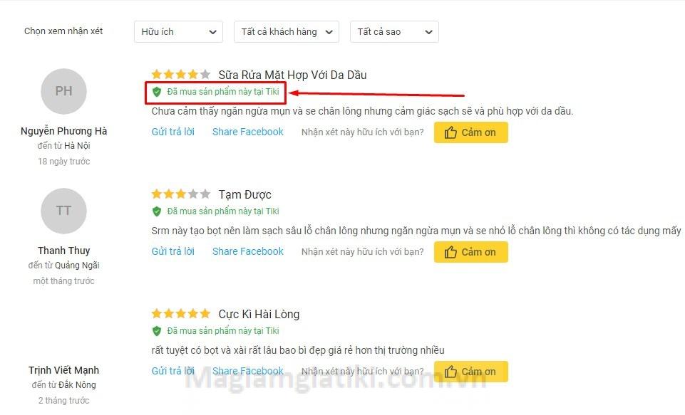 kinh nghiệm mua hàng giá rẻ trên Tiki