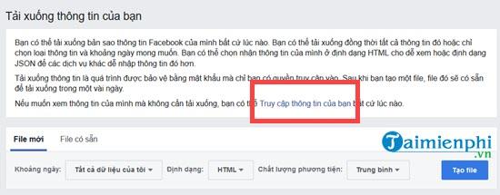 khoi phuc tin nhan facebook