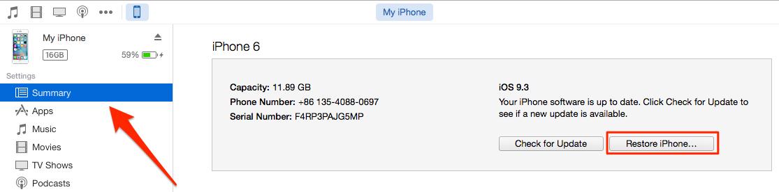 Cách hạ hệ điều hành iOS về phiên bản cũ dễ dàng 3