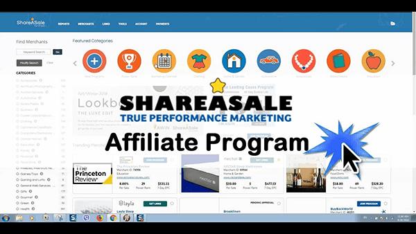 Mạng tiếp thị liên kết ShareASale