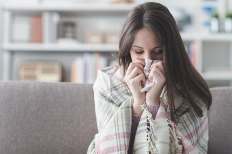 bệnh cảm lạnh thường gặp vào mùa đông