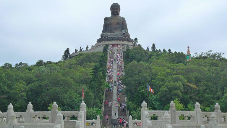 bức tượng Đại Phật tại Hong Kong