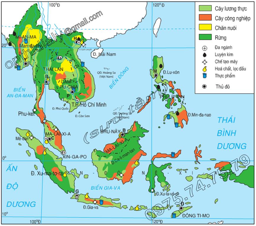 Vị trí địa lý – Nguyên nhân làm cho nền kinh tế Việt Nam phát triển