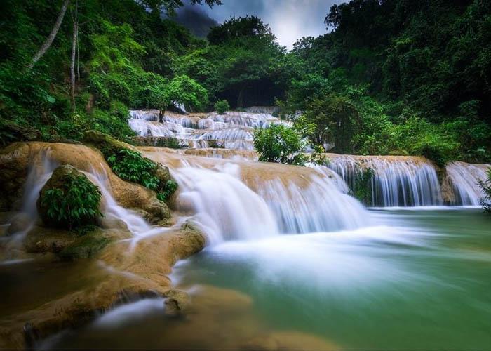 Thác Mây là điểm du lịch của tỉnh Thanh Hóa- thác nước việt nam